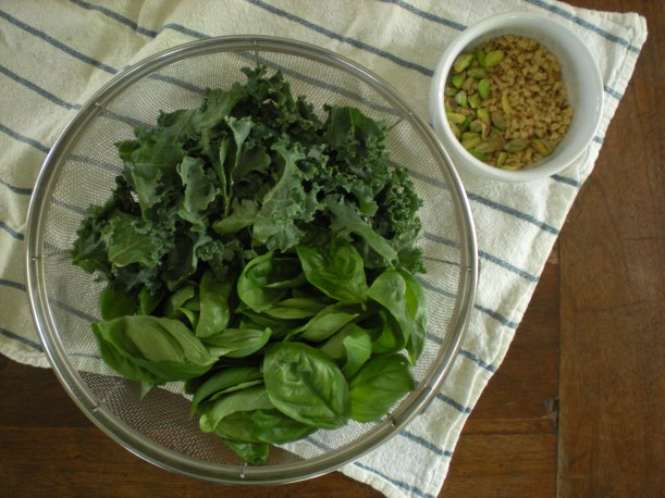 Greens and nuts